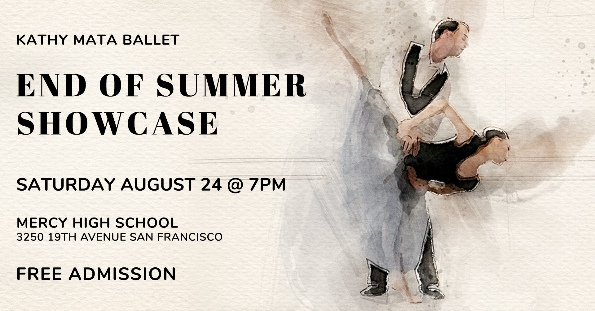 Kathy Mata Ballet End of Summer Showcase 2019